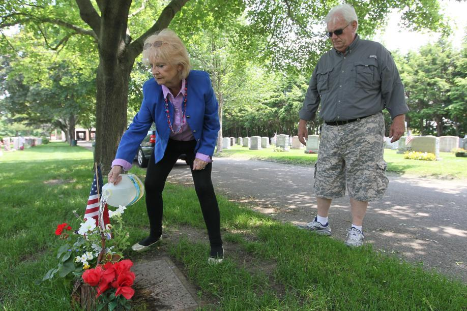 Margaret and John Burns visited the grave of their son, Bradley, in Belmont this summer, four years after his death while under restraints at the state prison facility in Bridgewater.